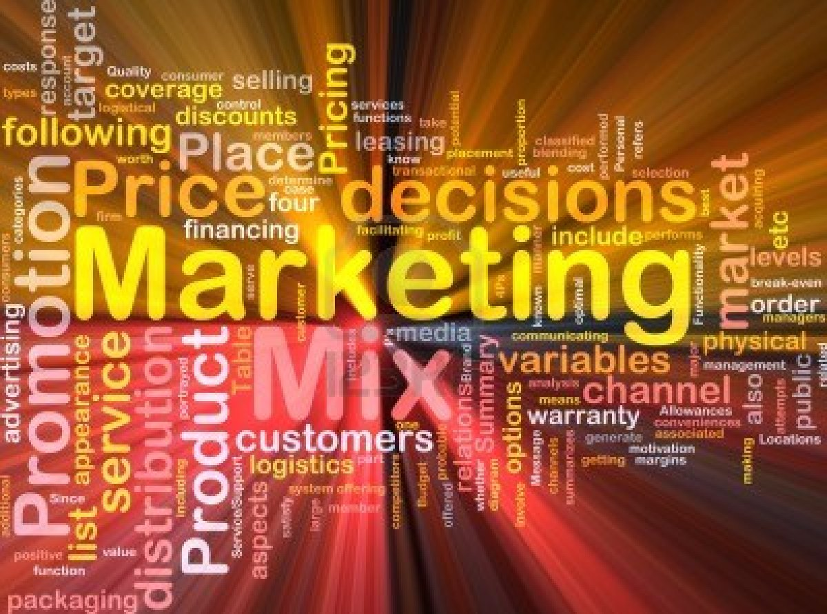 what variable are included in the marketing mix
